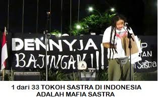 33 Tokoh Sastra Indonesia