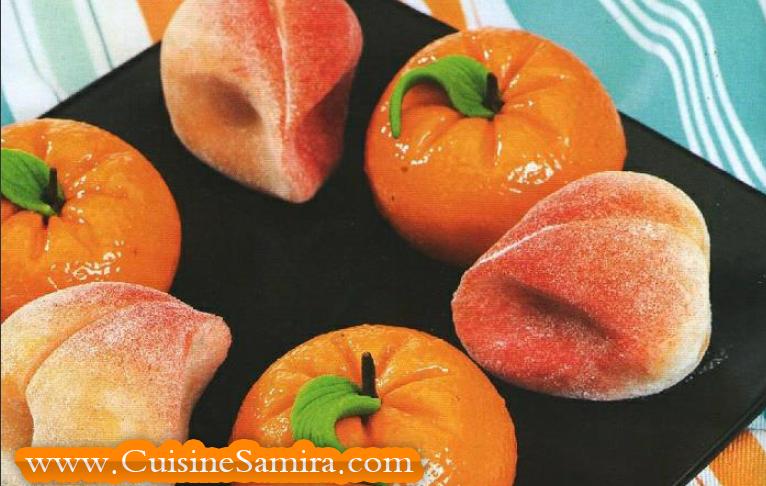 Recette de l3id mandarine et p che recette cuisine - Samira tv cuisine fares djidi ...
