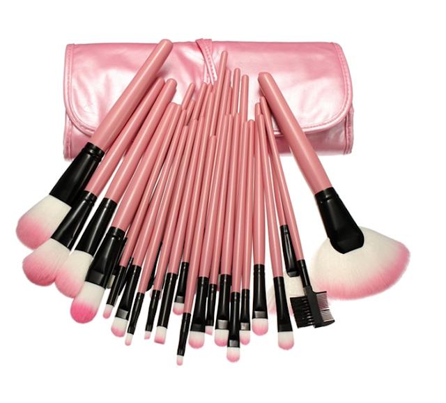 32 pincéis para makeup
