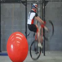 ciclista ninja