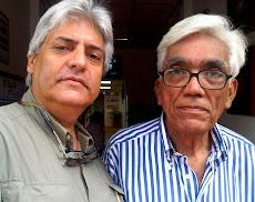Juan Miguel Avalos y el artista FONSECA