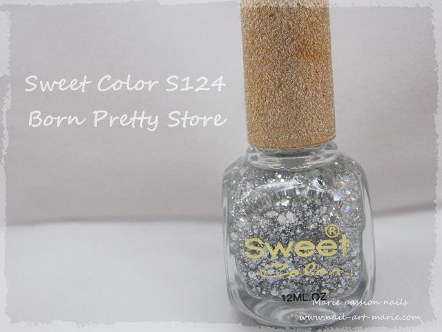 sweet color S124 Born pretty store1