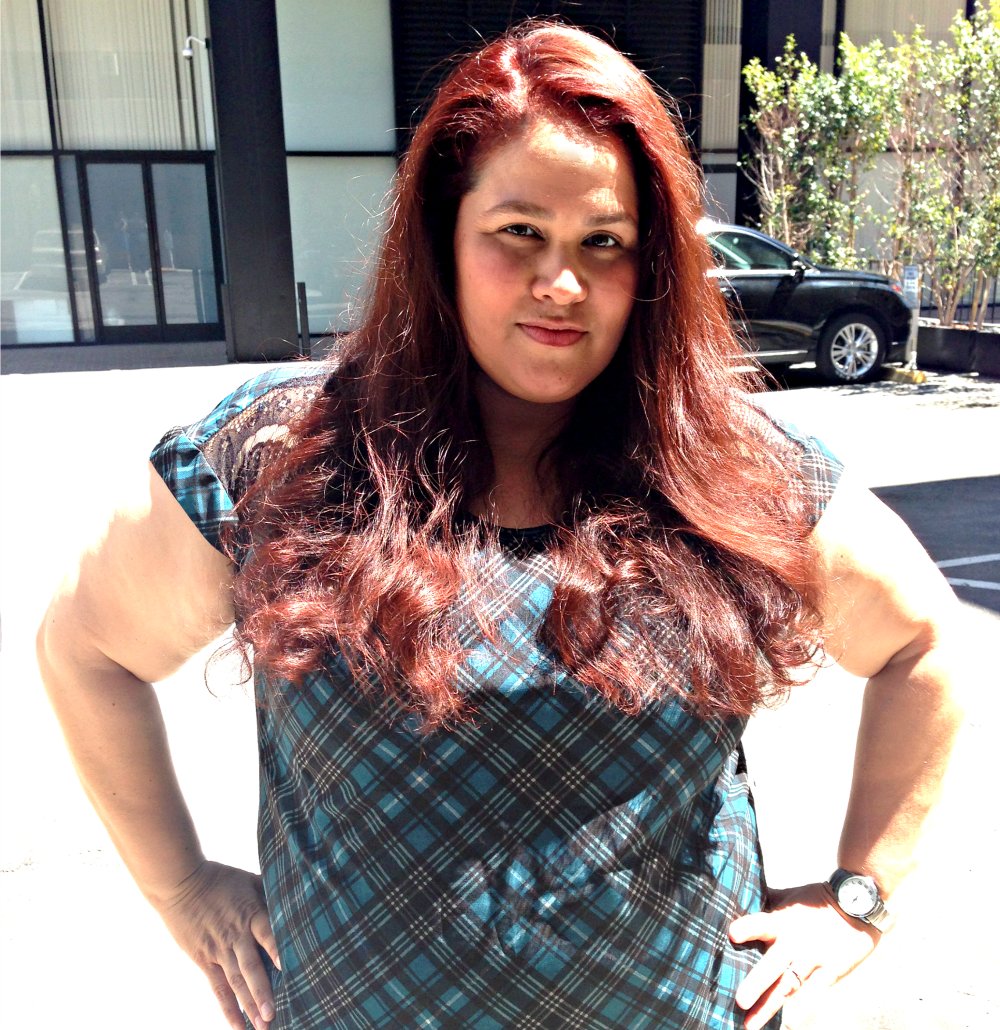 red hair, new hair, blow out, nelson j salon, beverly hills, cidstylefile.com