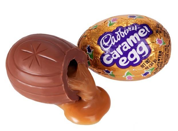NOL : BLOG : : The Best Candy On Earth: Cadbury Caramel Egg
