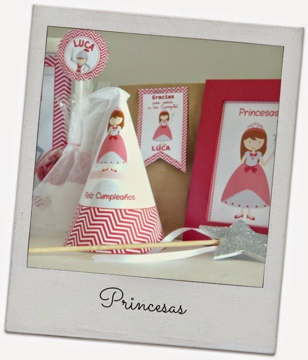 Ideas para fiesta princesas y caballeros