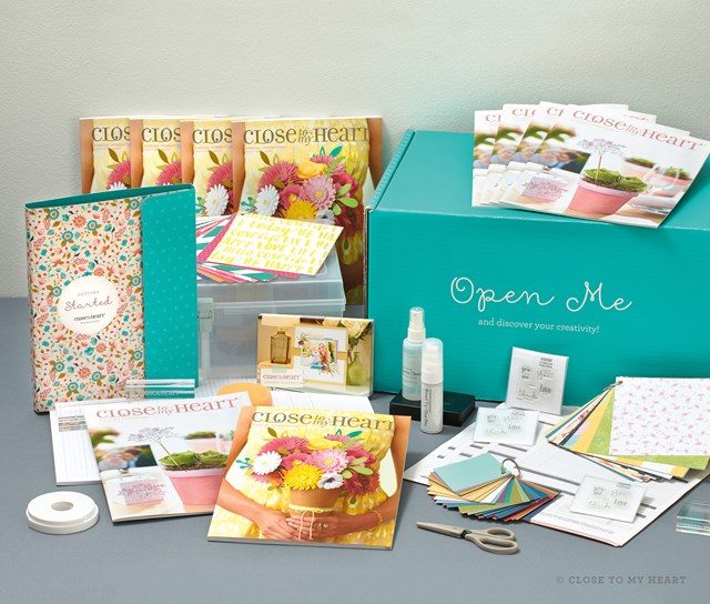 Close to My Heart- New Consultant Kit $75