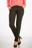 Pantaloni dama clasici negri Be You