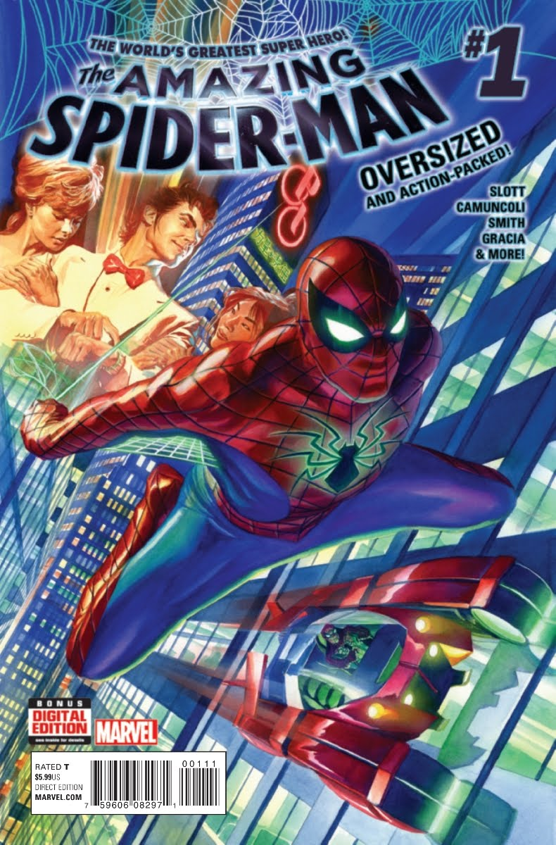 THE AMAZING SPIDER-MAN#01