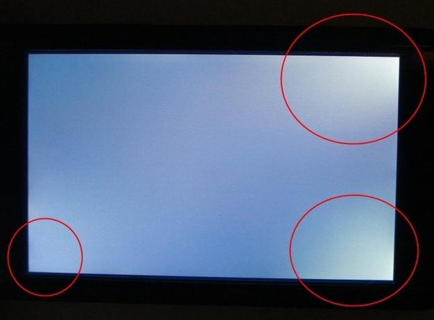 Kiểm tra lỗi hở sáng của tivi Sony
