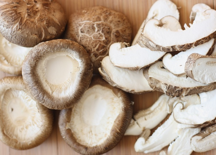 Shiitake mushrooms for Asian vegetarian dishes