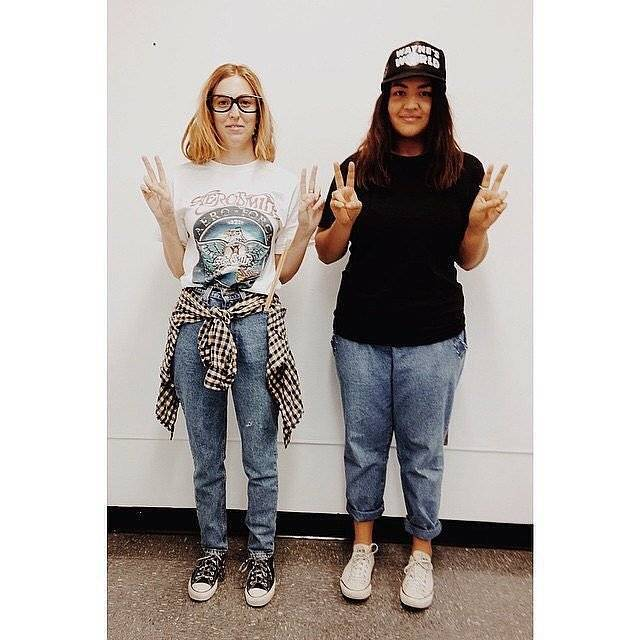 this is an awesome buddy costume idea why not go as wayne and garth from waynes world