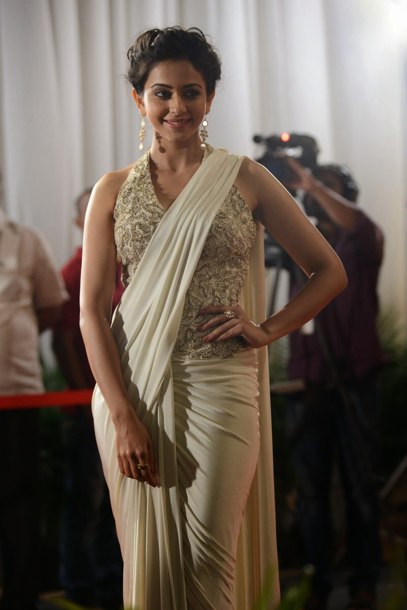 Rakul Preet Singh In Sexy Saree Latest Photos