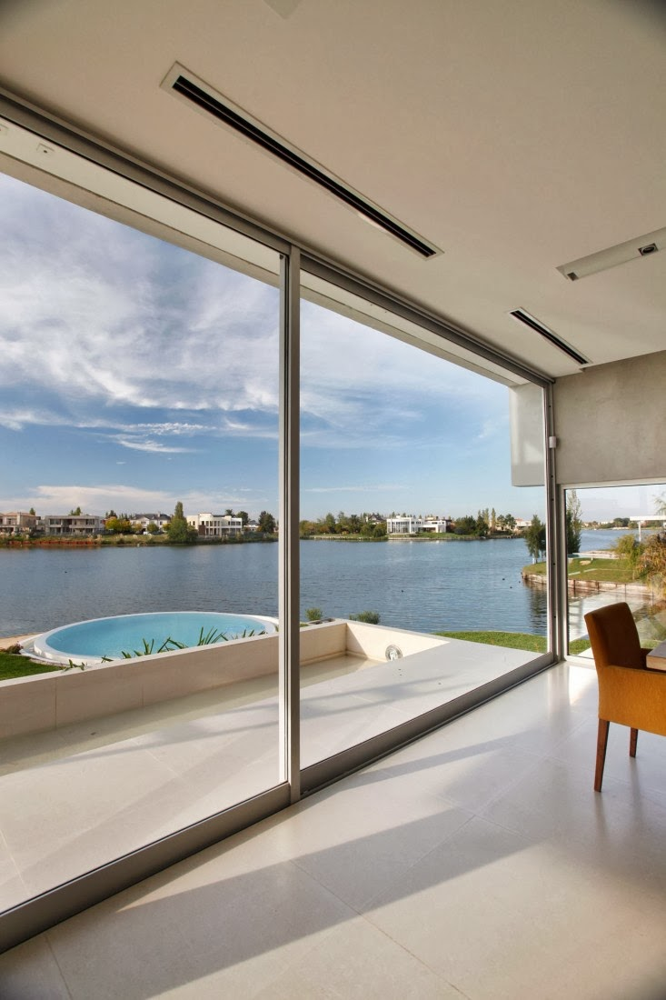 Lake from Casa del Cabo by Andres Remy Arquitectos