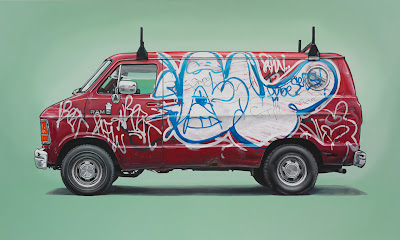 oil art - kevin cyr - street art - design