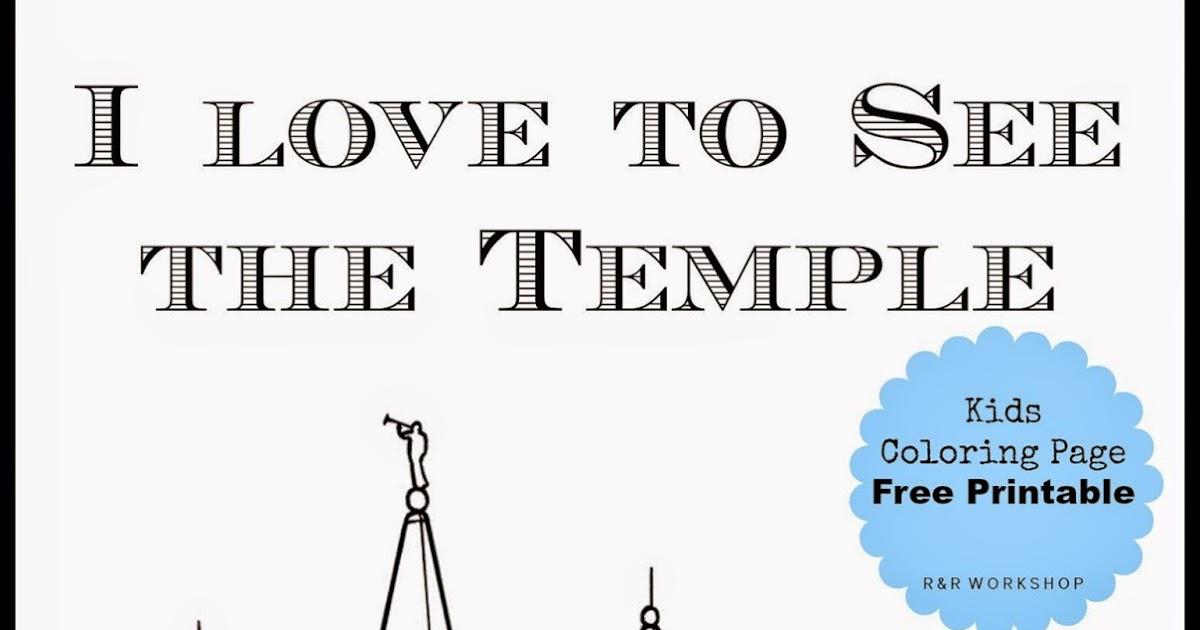 Salt Lake Temple Coloring Page - Eskayalitim