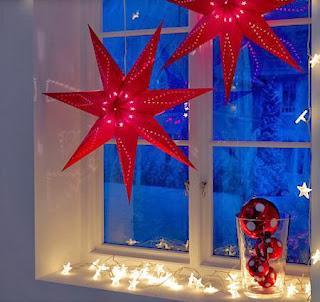 Decoracion de Ventanas para Navidad, parte 1