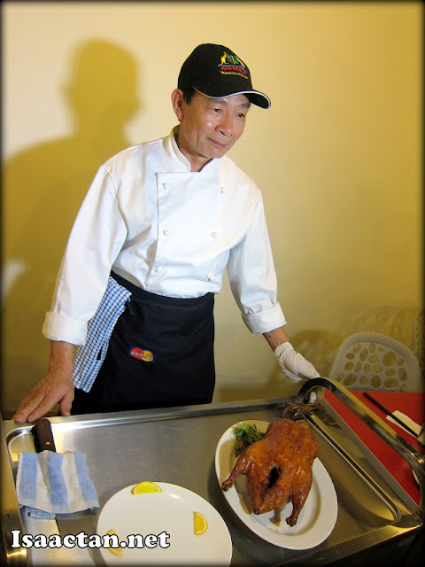 The master chef of Melbourne Peking Duck