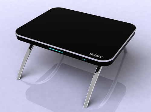 Information technology professionals sony new invention for Table ordinateur