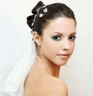 maquiagem para noivas loira
