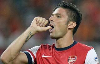 Olivier Giroud, Arsenal striker