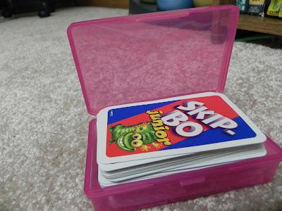 Pour ranger les cartes à jouer
