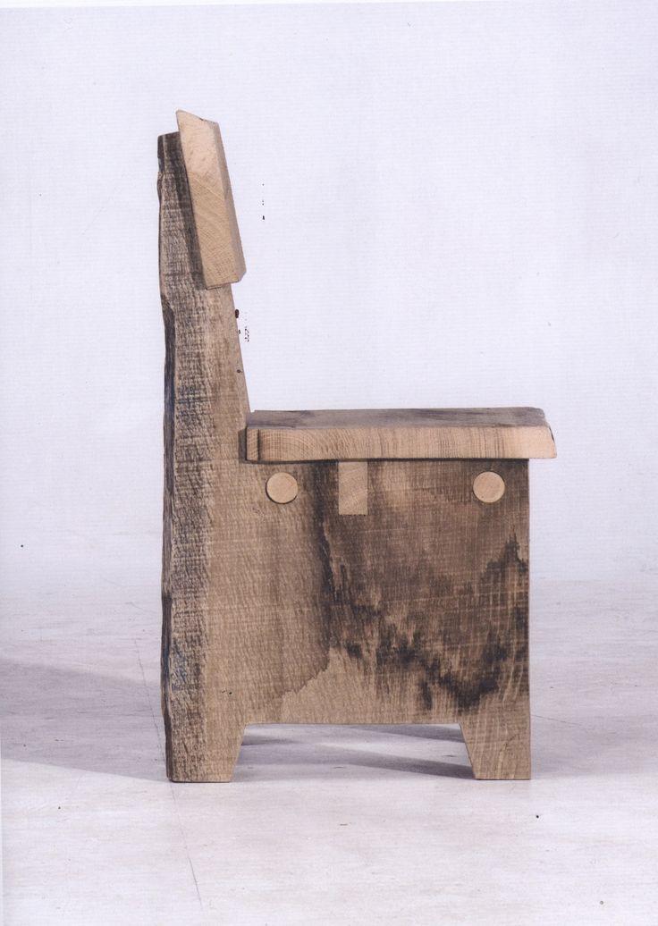 cadeira de madeira demolição