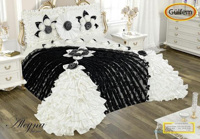 gülfem yatak örtüsü