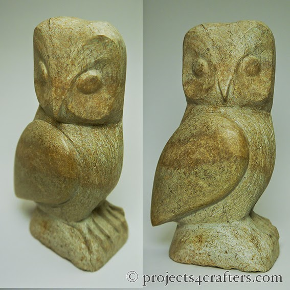 Projects crafters how to carve a soapstone owl