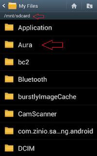 Aura Folder Directory