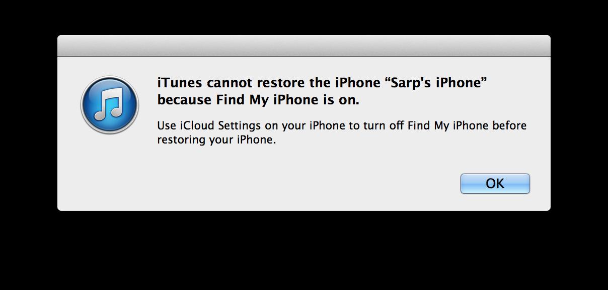 Cannot restore backup icloud iphone 6 novedades