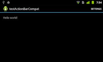 ActionBarCompat