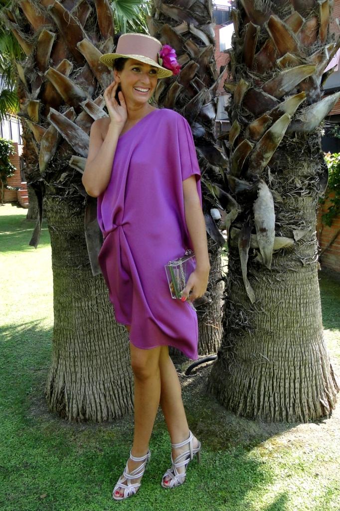 Asombroso Boda Vestido Púrpura Foto - Ideas de Vestidos de Boda ...