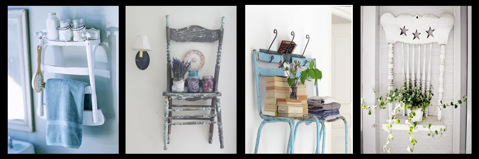 Rogiamstore come riciclare vecchie sedie in legno fai da te for Piccoli oggetti in legno fai da te
