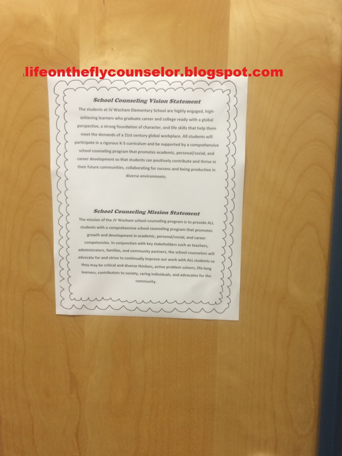 Life On The Fly A School Counselor