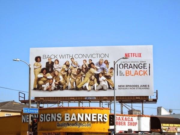 Orange is the New Black season 2 billboard