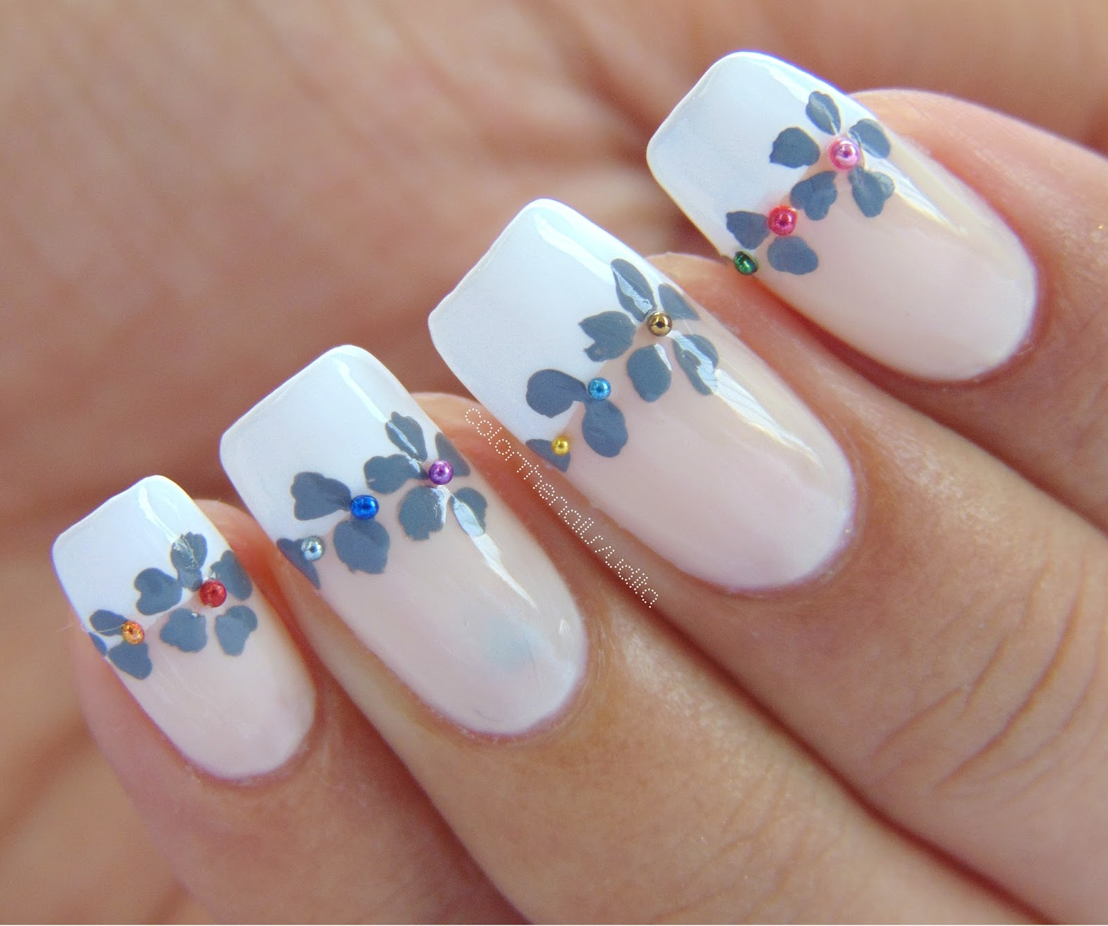 Formal French Nails   Color The Nails