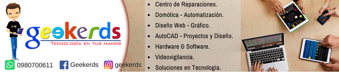 Geekerds - Todo lo que necesites en Tecnología: Servicios & Equipos