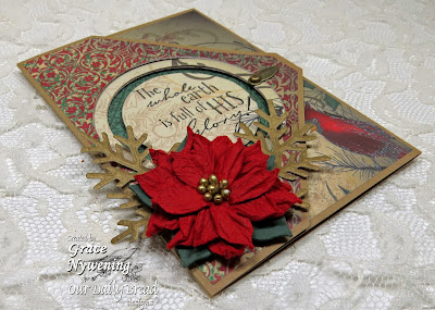 Our Daily Bread Designs,The Earth, ODBD Fancy Foliage Dies, Circle Ornament Dies ODBD Christmas Paper Collection 2013,Grace Nywening