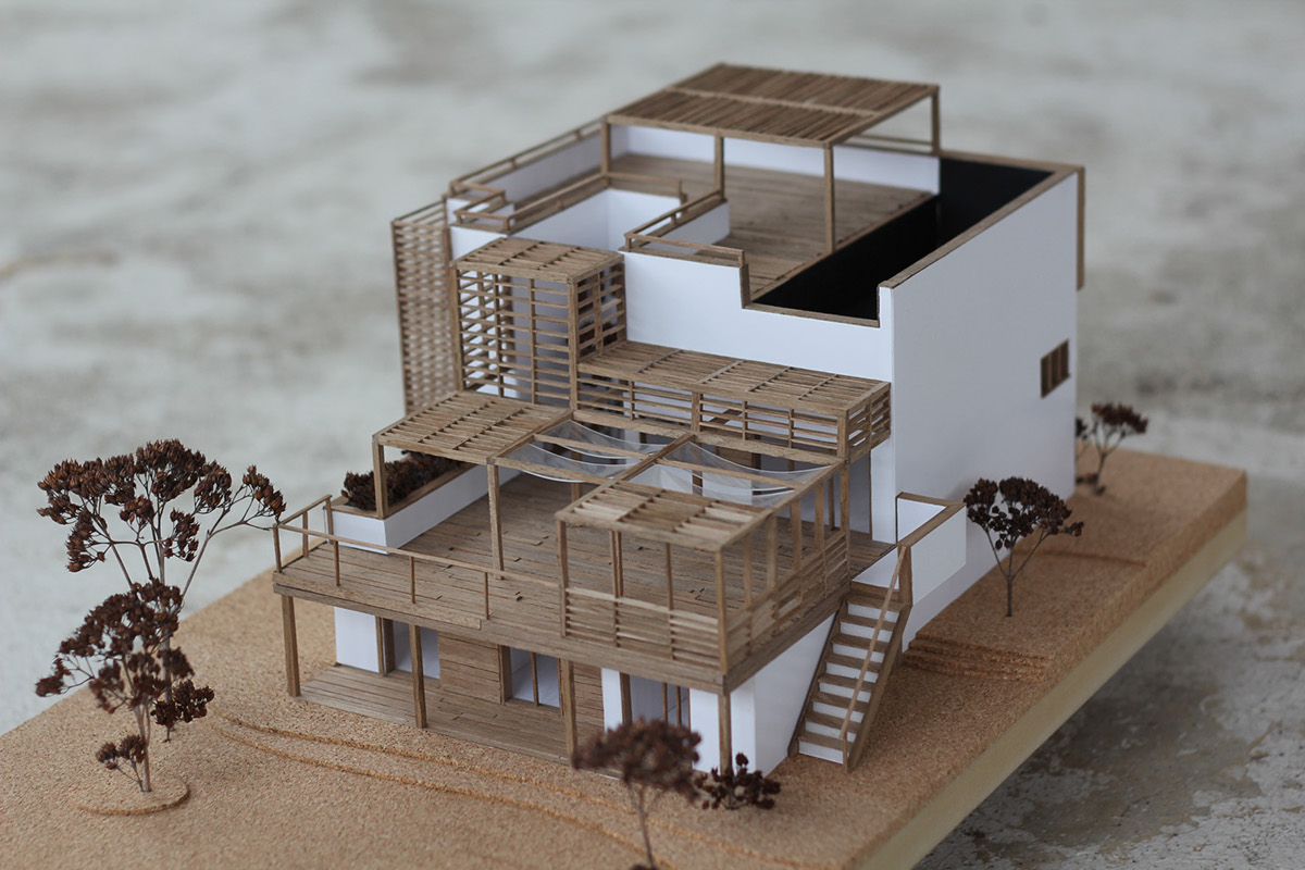 Foot work - Small spaces architecture model ...