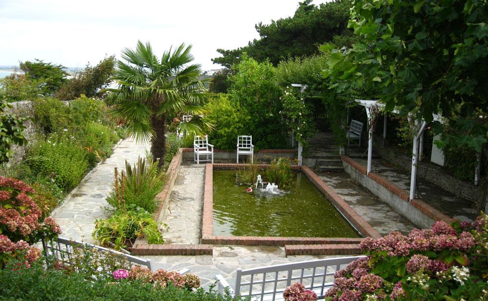 gardens at Le Rhumbs