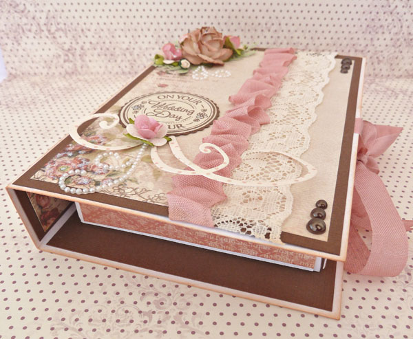 Indian wedding gift card box