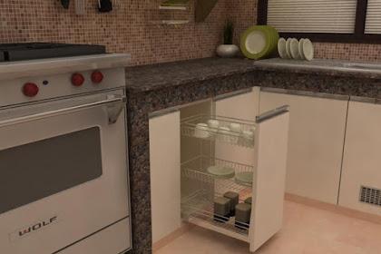 Jasa Desain Dapur Anda, Kitchen set Interior Desain