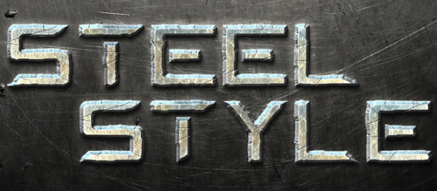 Awesome Metal Text Effect in Photoshop