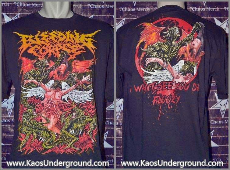 BLEEDING CORPSE BAND KAOSUNDERGROUND.COM 7CHAOS MERCH GLORY MERCHANDISING
