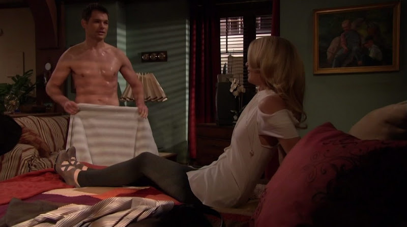 Daniel Cosgrove Shirtless on All My Children 20110303