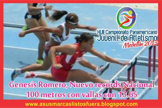 100 metros vallas-genesis romero