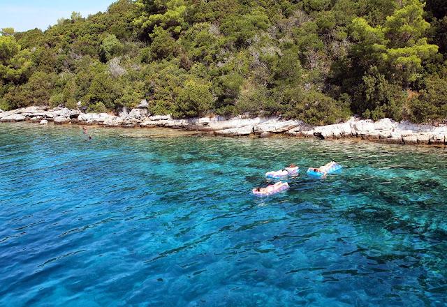 More sea time at Vis, Croatia
