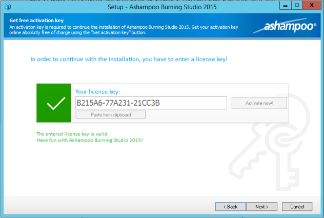 Ashampoo Burning Studio 2015 v1.15 Serial Key | Rex Sniper Blogspot