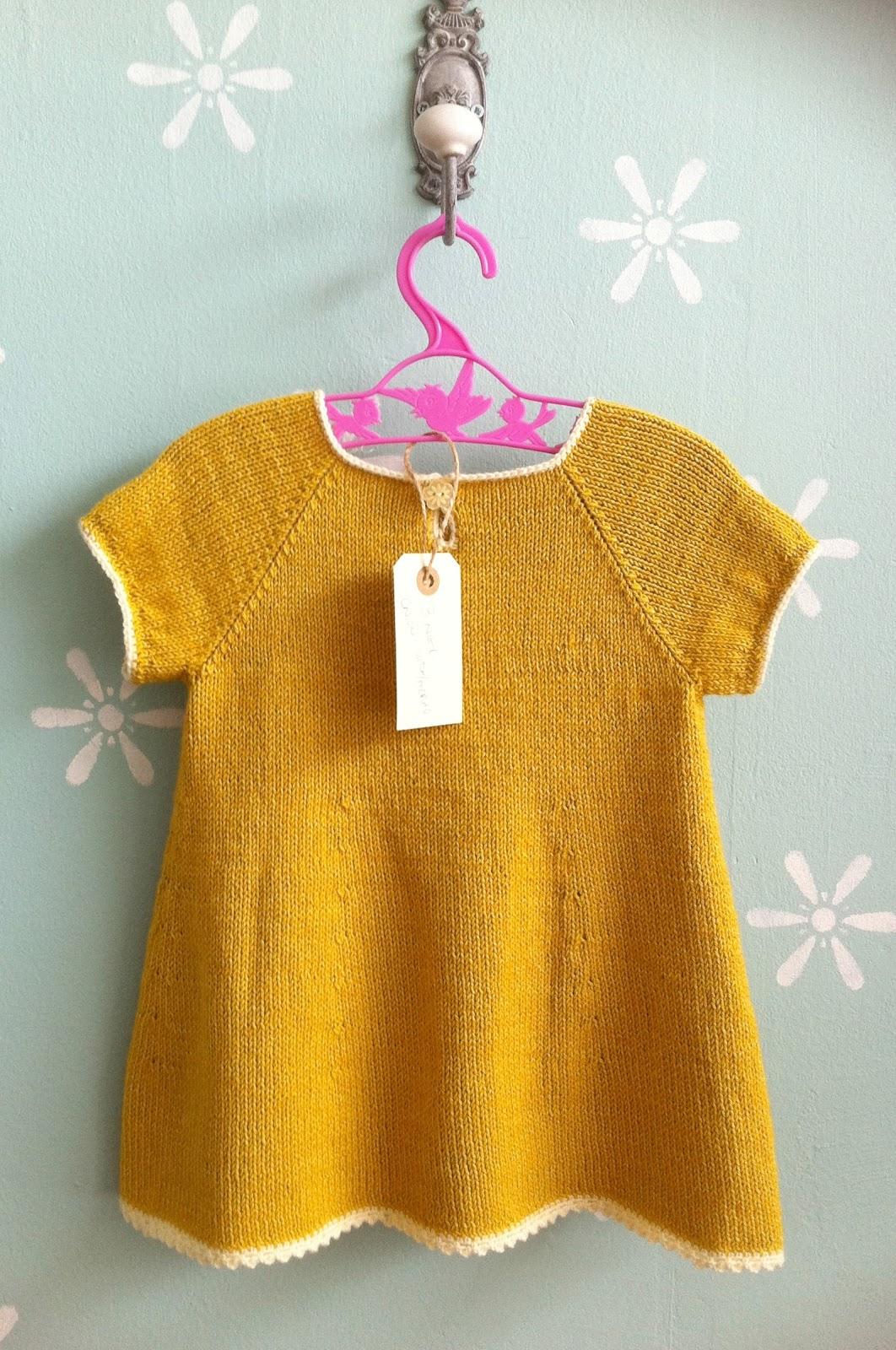 Knitting Pattern Baby Girl Dress : erleperle: peachy dress