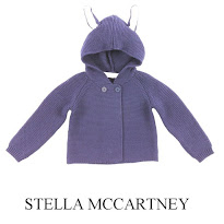 Prince George Style - Stella McCartney Smudge Baby Hooded Cardigan